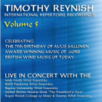 Fredonia Wind Ensemble Timothy Reynish International Repertoire Recordings Vol. 5 (2011)